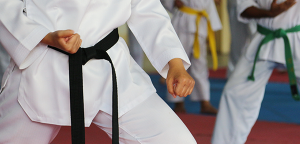 A Martial Arts Black Belt